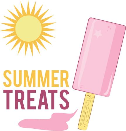 lollies: Summer is the best time for some ice cream.