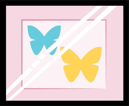 accent: Beautiful butterflies area wonderful accent on your projects.