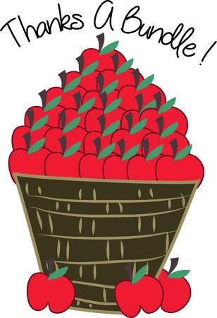 Deze appels zal een prachtige val decoratie zijn.