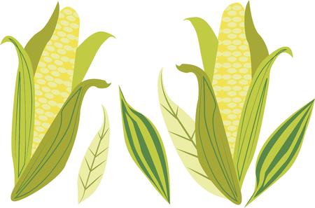 corn stalk: Farmers will love corn on a t-shirt.