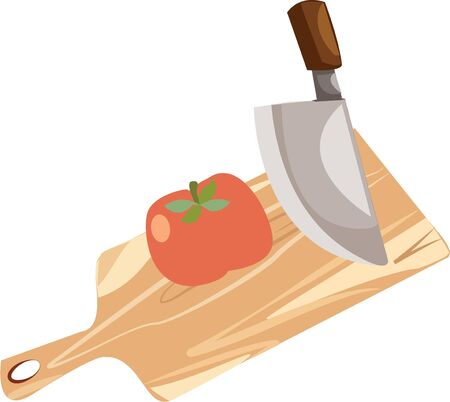 beefsteaks: Accent a chef apron with a cooking design. Illustration