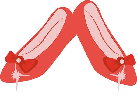 Have wonderful dreams with these ruby slippers.