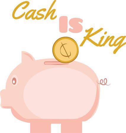 porker: Save money with a cute piggy bank.