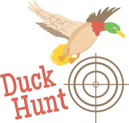 hunters: Hunters would love this duck on a hat.