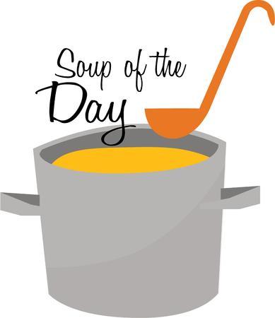 おいしいスープは、寒い日にあなたの台所に最適です。
