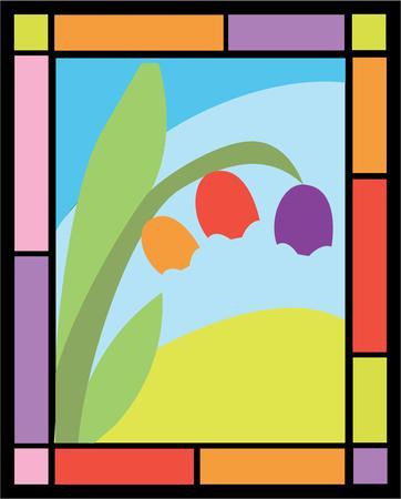 Belles tulipes vont ajouter de la couleur à vos projets. Banque d'images - 44804552