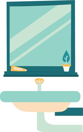 Decorate your home with a beautiful bathroom scene.