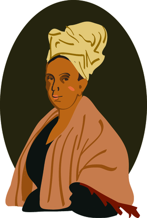 Share your knowledge of voodoo history with this bust of Mambo Marie Laveau.
