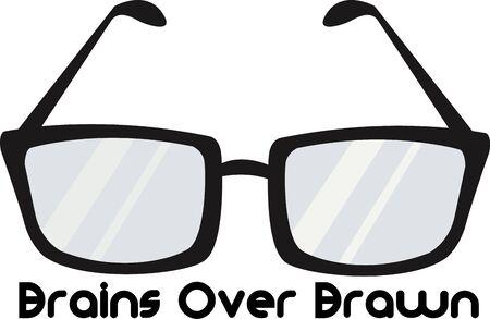 accessoire: Les lunettes sont un accessoire de mode amusant.