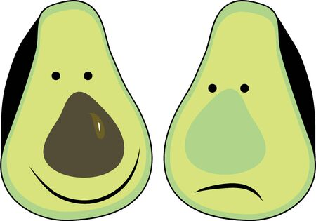 amuse: Cute Avocados will make a funny dcor in your kitchen.