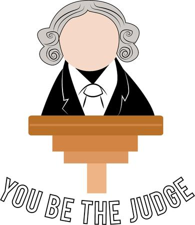 barrister: Display your integrity with a legal design.