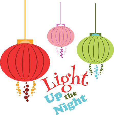 lamp shade: Hanging lanterns are a wonderful decoration for the home.