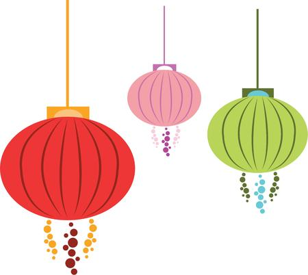 Hanging lanterns are a wonderful decoration for the home.