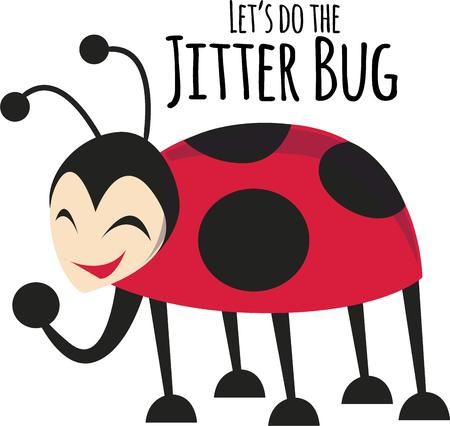 Every gardener needs a lady bug in their garden.