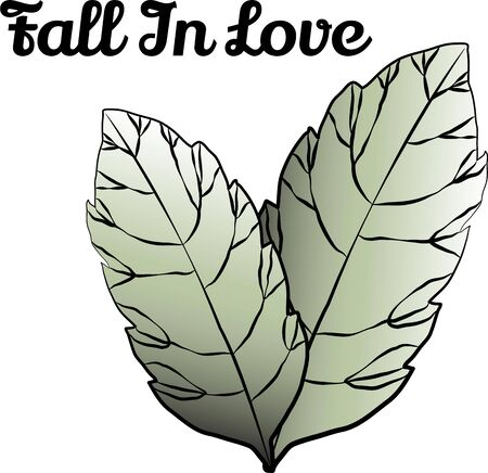 Accent your projects with lovely leaves. Çizim