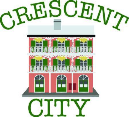 콘도: Use this building for a Bourbon Street souvenir project.