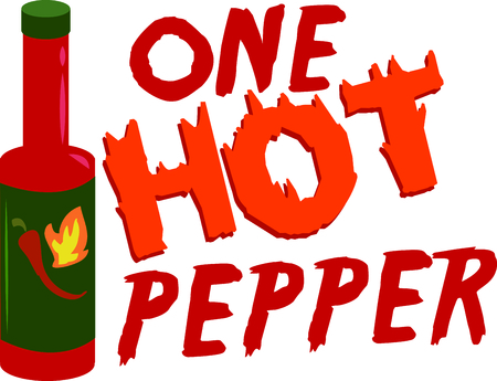 Spicy up your next project with this cajon hot pepper.
