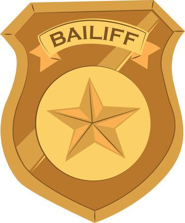 patrolman: Make a special shirt for an officer. Illustration