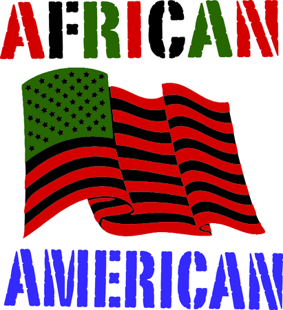 liberation: Show pride and celebrate worldwide liberation of people of African origin with this design on flags, banners, clothing and more.