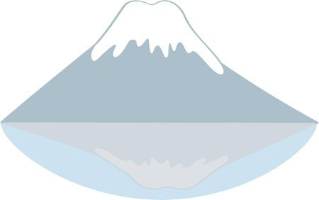 mount fuji: Mount Fuji is a classic symbol of Japan and is a great travelers design.