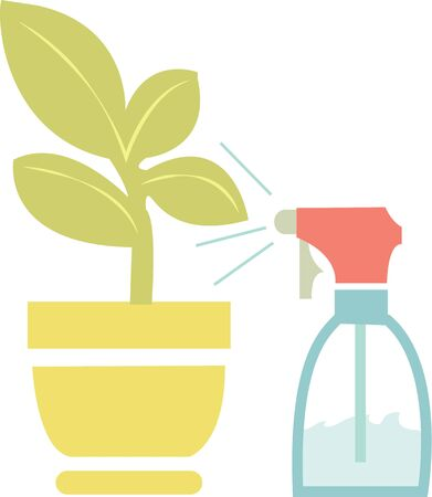 green thumb: Watering house plants will give you a green thumb.
