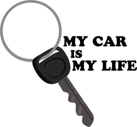 Have a key handy when you need one. Illusztráció