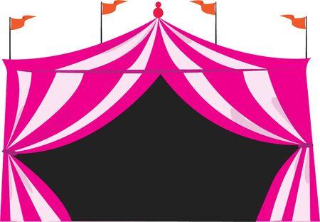 Make a shirt for a day at the circus. Ilustração