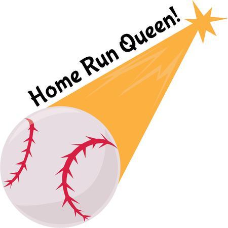 little league: Baseball fans will love this ball on a cap.