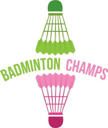 shuttles: Fans of badminton will like these birdies. Illustration