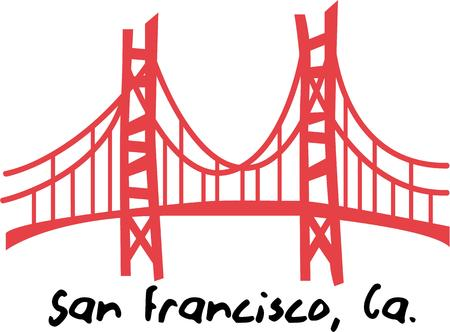 Decorate your travel project with great landmarks. Ilustracja