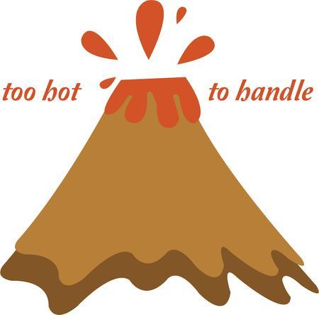 火山とホット フラッシュを持っています。