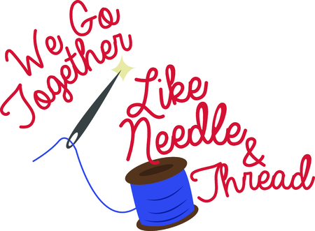 seasoned: Whether a seasoned professional or a new amateur, any seamstress will enjoy a gift with a needle and thread.