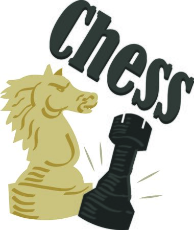 love strategy: Play the game of strategy.  Use this design for a chess player, they will love it.