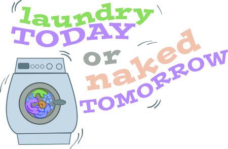 cargador frontal: Compadecerse con gente de todo el mundo con este diseño de la secadora en una camiseta divertida.