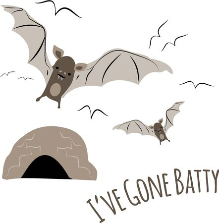 Bats are a wonderful design for a nature lover.