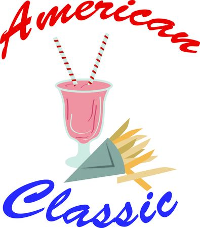 summer day: Everyone enjoys a milkshake on a hot summer day.  Grab this image for your next design.