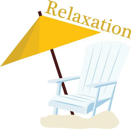 ビーチ トートになります素敵な太陽のための椅子がアクセントします。 写真素材 - 44886149