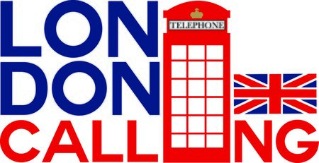 A London phone booth is the perfect design for your travel projects.
