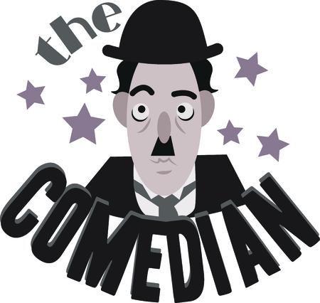 famosos: Chaplin le hará sonreír cada vez que usted decide poner su rostro.