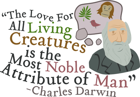 Science geeks will enjoy this historic scientist on a t-shirt. Ilustracja