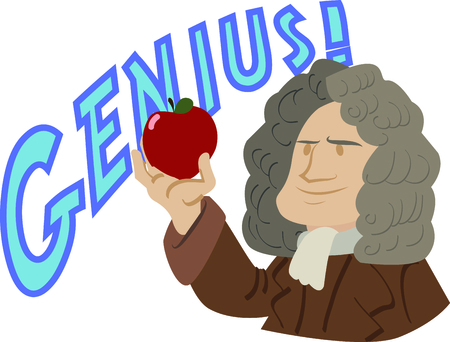 Science geeks will enjoy this historic scientist on a t-shirt. Imagens - 44889139