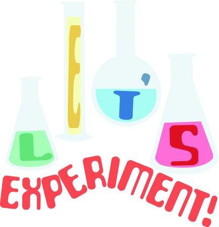 이 비커는 과학자의 실험실 코트를위한 훌륭한 로고입니다.