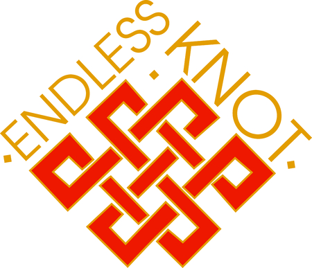 The Knot of Infinity symbolizes that truth.