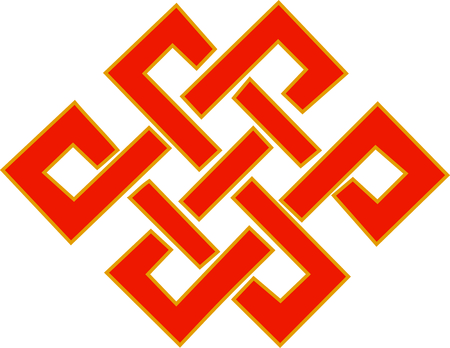 knotwork: The Knot of Infinity symbolizes that truth.