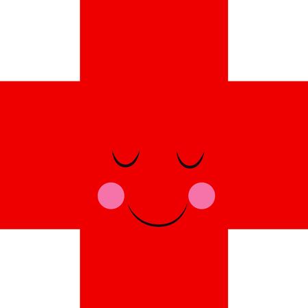 이 행복한 십자가는 사람들에게 피를 기부하도록 상기시키는 훌륭한 방법입니다.