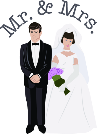 newlywed: Planning a bridal shower is so much fun.  Give the couple a special shirt to wear while they prepare for the special day.  They will love it!