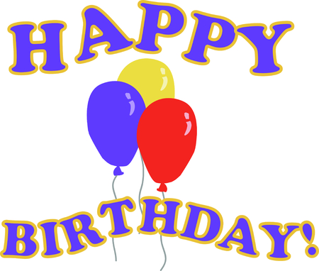 addition: Use these balloons for a fun addition to a birthday surprise!