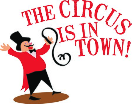 ringmaster: Use this ringmaster for a fun circus theme project.
