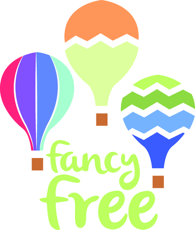 The perfect design to add to a baby or toddlers nursery.  A cute hot air balloon that looks like a water color painting.