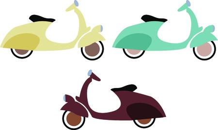 MOTORIZADO: Conducir un vehículo ecológico - conducir este scooter! Este scooter motorizado es tan divertido en una chaqueta de montar o camisa.